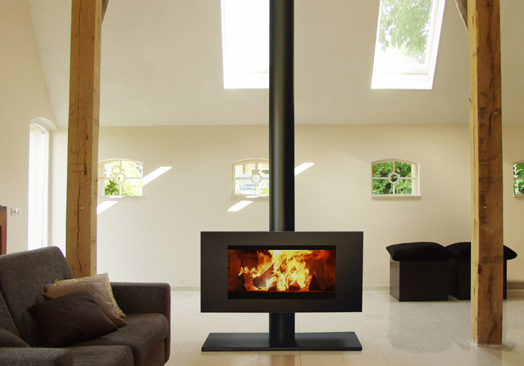 Dik Geurts Noa rectangular free standing stove copy