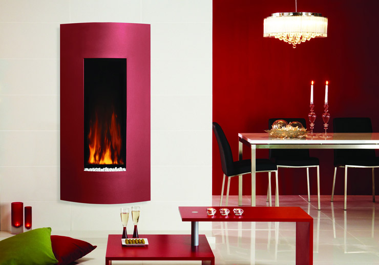 Gazco Studio 22 verve in metalic red
